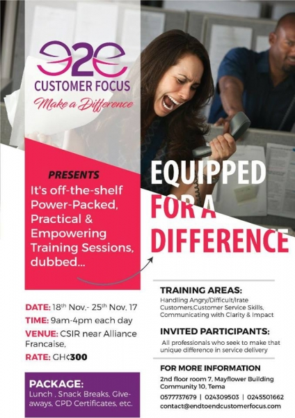 Equipped For A Difference (EFAD) 2017